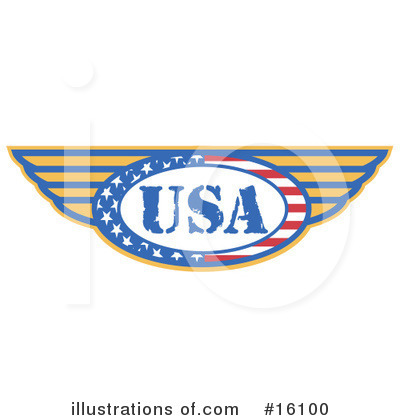Royalty-Free (RF) Usa Clipart Illustration by Andy Nortnik - Stock Sample #16100
