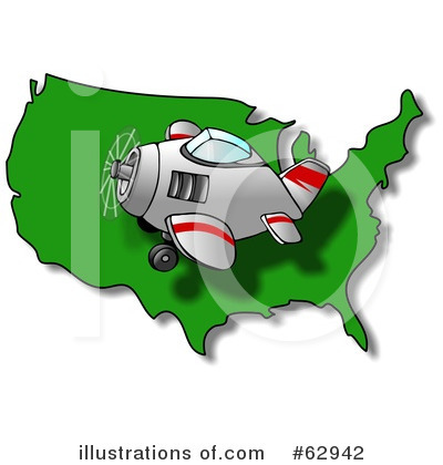 Airplane Clipart #62942 by djart