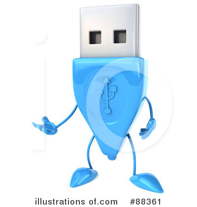 Usb Clipart #88361 by Julos
