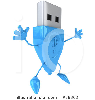 Usb Clipart #88362 by Julos