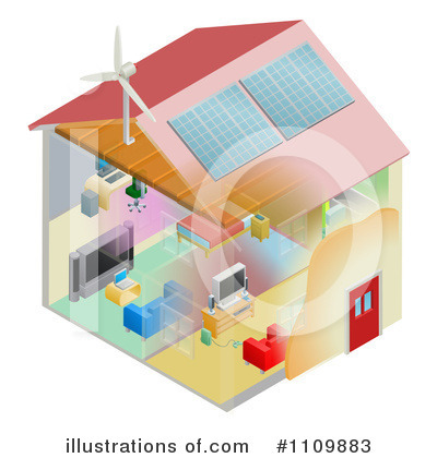 Solar Energy Clipart #1109883 by AtStockIllustration