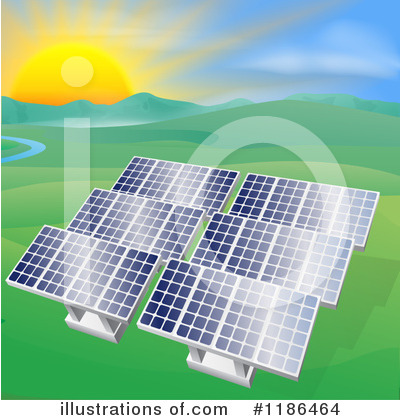 Solar Energy Clipart #1186464 by AtStockIllustration