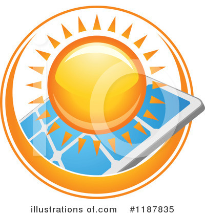 Solar Panel Clipart #1187835 by Vector Tradition SM