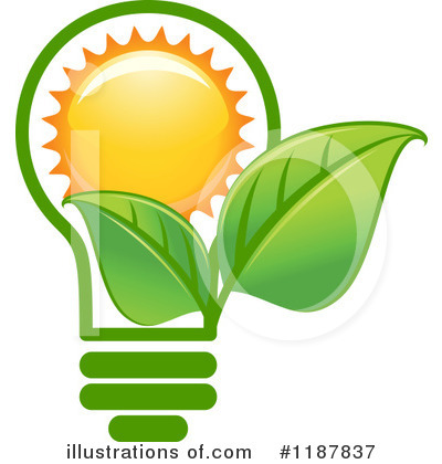 Solar Energy Clipart #1187837 by Vector Tradition SM