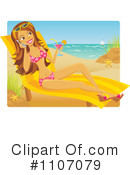 Royalty-Free (RF) vacation Clipart Illustration #1107079