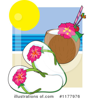 Sandals Clipart #1177976 by Maria Bell