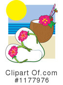 Vacation Clipart #1177976 by Maria Bell