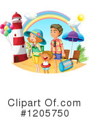 Royalty-Free (RF) Vacation Clipart Illustration #1205750