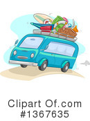 Royalty-Free (RF) Vacation Clipart Illustration #1367635