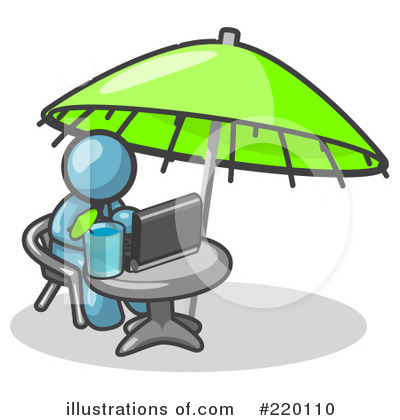 Royalty-Free (RF) Vacation Clipart Illustration by Leo Blanchette - Stock Sample #220110