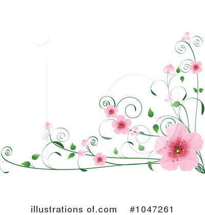 Blossoms Clipart #1047261 by Pushkin