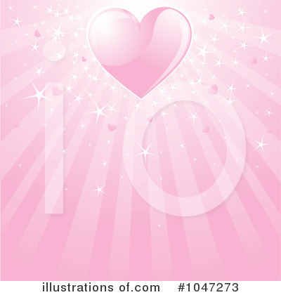 Valentine Background Clipart #1047273 by Pushkin