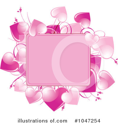 Valentine Background Clipart #1047254 by Pushkin