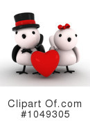 Royalty-Free (RF) Valentine Clipart Illustration #1049305