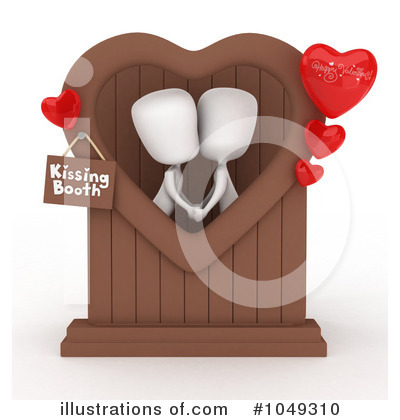 Kiss Clipart #1049310 by BNP Design Studio