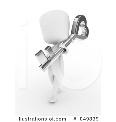 Skeleton Key Clipart #1049339 by BNP Design Studio