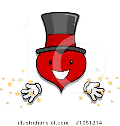 Heart Character Clipart #1051214 by BNP Design Studio