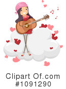 Royalty-Free (RF) Valentine Clipart Illustration #1091290