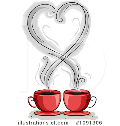 Hearts Clipart #1091306 by BNP Design Studio