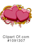 Royalty-Free (RF) Valentine Clipart Illustration #1091307