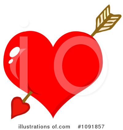 Heart Clipart #1091857 by Hit Toon