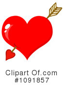 Royalty-Free (RF) Valentine Clipart Illustration #1091857