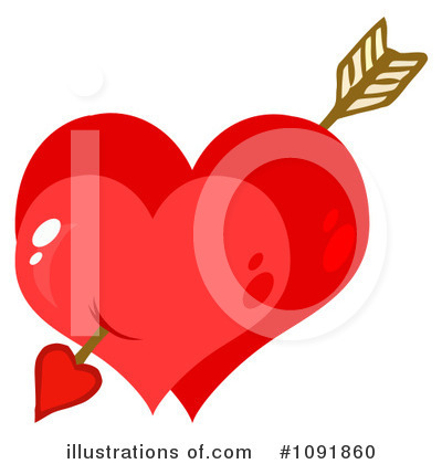 Heart Clipart #1091860 by Hit Toon