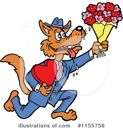 Royalty-Free (RF) Valentine Clipart Illustration by LaffToon - Stock Sample #1155756