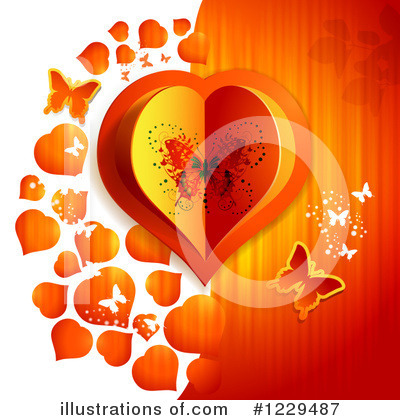 Royalty-Free (RF) Valentine Clipart Illustration by merlinul - Stock Sample #1229487