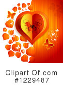 Royalty-Free (RF) Valentine Clipart Illustration #1229487