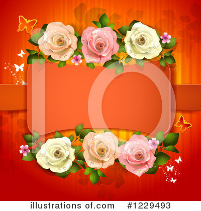 Roses Clipart #1229493 by merlinul