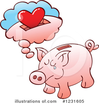 Pig Clipart #1231605 by Zooco