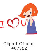 Royalty-Free (RF) Valentine Clipart Illustration #87922