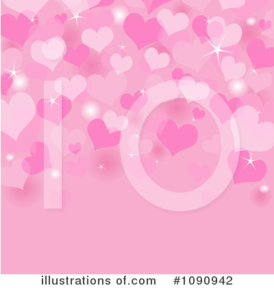 Valentine Background Clipart #1090942 by Pushkin