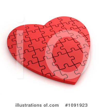 Puzzle Pieces Clipart #1091923 by BNP Design Studio