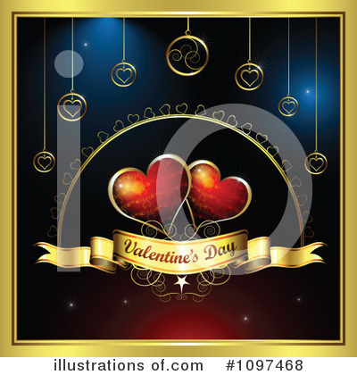 Valentines Day Clipart #1097468 by merlinul