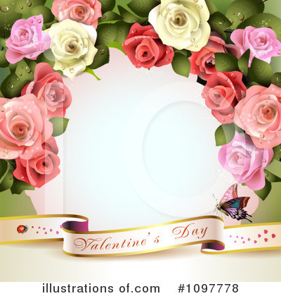 Roses Clipart #1097778 by merlinul