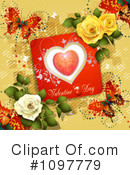 Royalty-Free (RF) Valentines Day Clipart Illustration #1097779
