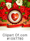 Royalty-Free (RF) Valentines Day Clipart Illustration #1097780