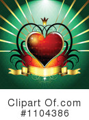 Royalty-Free (RF) Valentines Day Clipart Illustration #1104386