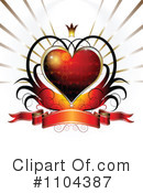 Royalty-Free (RF) Valentines Day Clipart Illustration #1104387