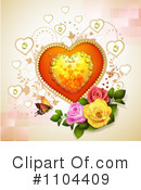 Royalty-Free (RF) Valentines Day Clipart Illustration #1104409