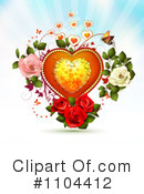 Royalty-Free (RF) Valentines Day Clipart Illustration #1104412