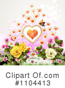 Valentines Day Clipart #1104413 by merlinul