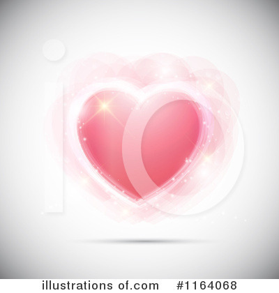 Hearts Clipart #1164068 by KJ Pargeter
