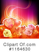 Royalty-Free (RF) valentines day Clipart Illustration #1164630