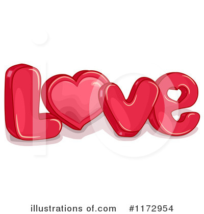 Valentines Day Clipart #1172954 by BNP Design Studio | Royalty-Free ...