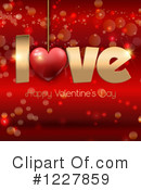 Valentines Day Clipart #1227859 by KJ Pargeter