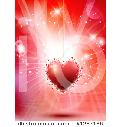 Valentines Day Clipart #1287186 by KJ Pargeter