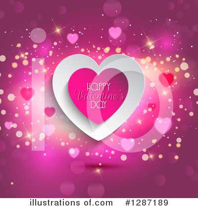 Hearts Clipart #1287189 by KJ Pargeter